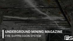 Underground Mining Magazine_ Fire Suppression System