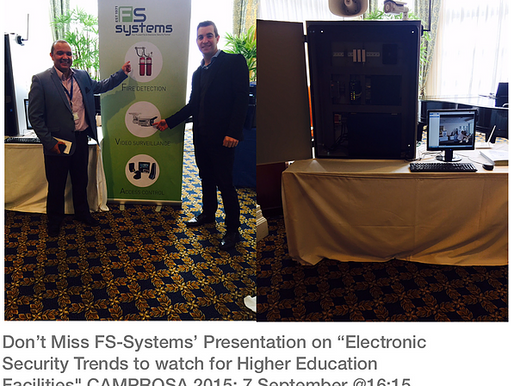 """CAMPROSA 2015: """"Electronic Security Trends to watch for Higher Education Facilities"""""""