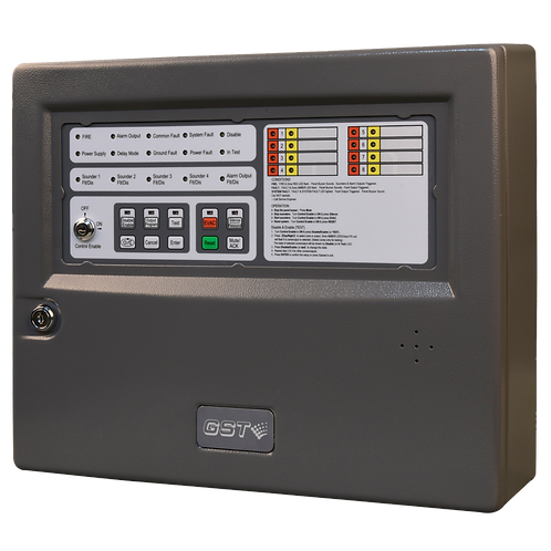 GST108A Conventional Fire Alarm Control Panel