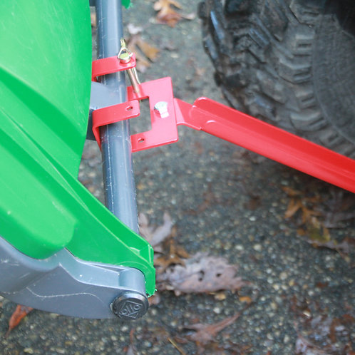UBL-BO Lawn Tractor, ATV bolt mounted Garbage Hook