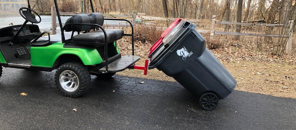 SR-MT on golf cart