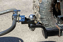 Combo hitch with handle equipment