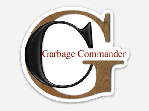 Garbage Commander Sticker