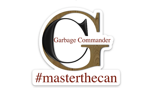 Garbage Commander with Can Large