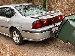 car garabge can hauler