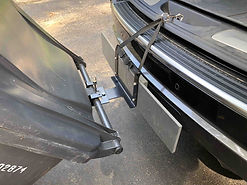 Garbage can Hitch for car