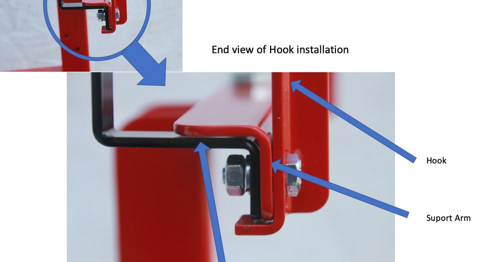 Hook installation