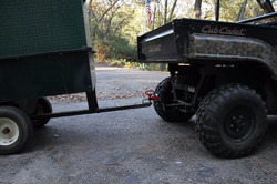 haul lawn carts with a ball hitch
