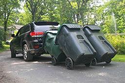 garbage can hauler