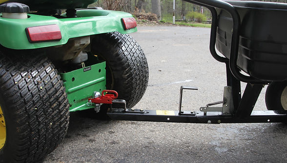 lawn tractor hitch