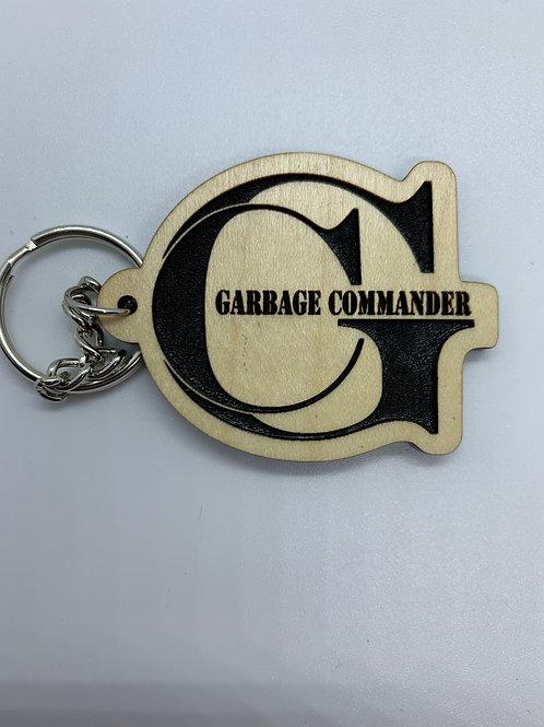 Garbage Commander Keychain