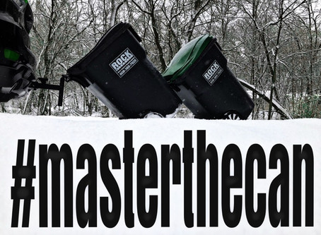 Whether it's snowing or just cold, why not take your trash out from the comfort of your vehicle!