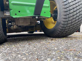 bolt on garbage hauling device