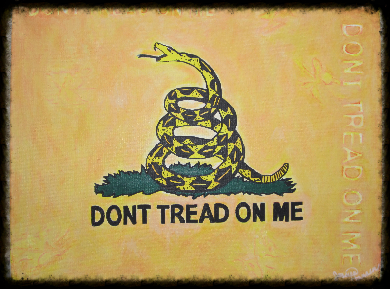 Patriot Series: Gadsden Flag