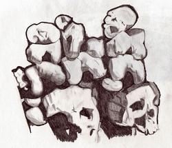 Paris Catacomb sketch