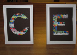 Storybook Initials for Baby C.E.