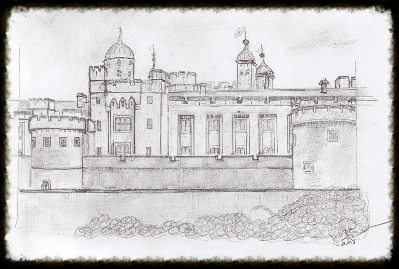 Tower of London Sketch