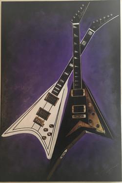 Randy Rhoads Flying V Guitars