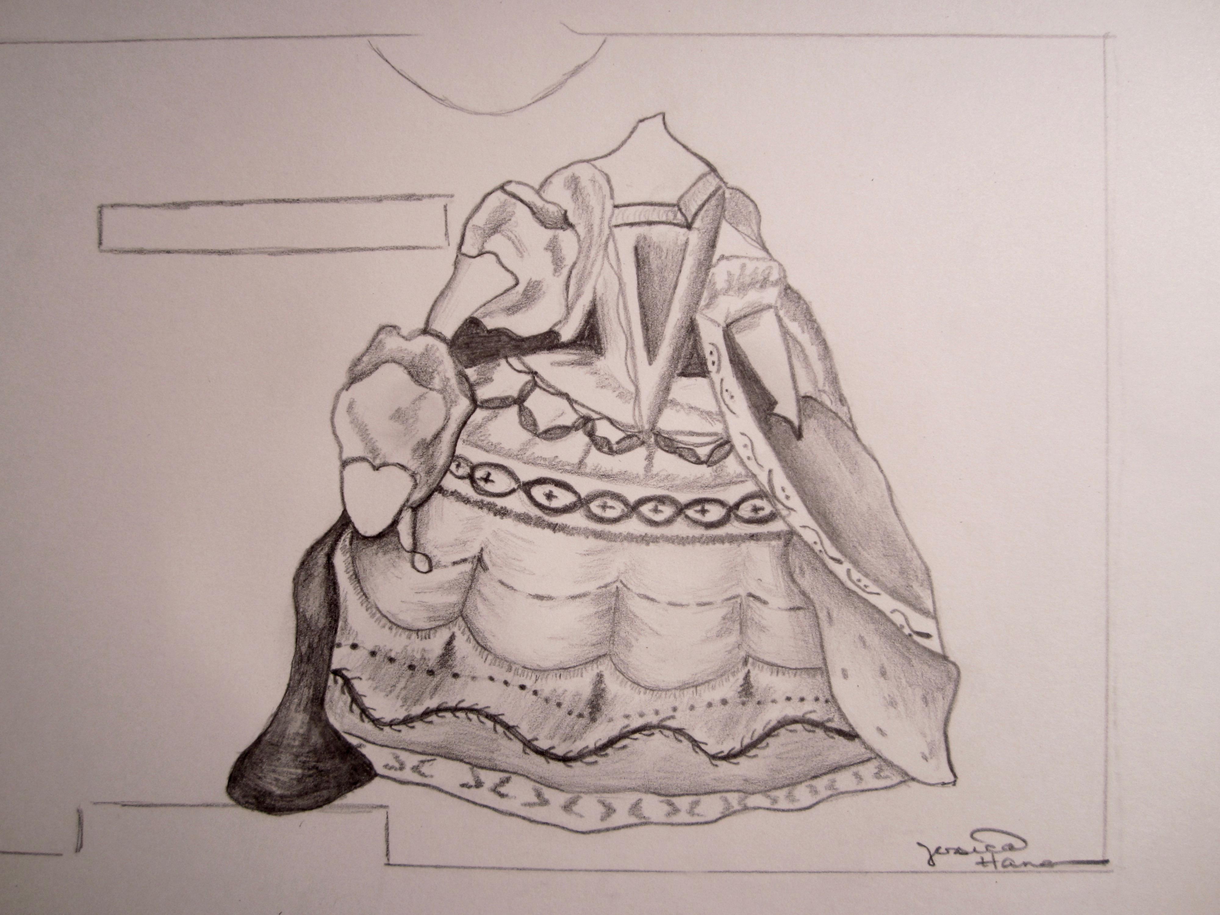 Sketch- Marie Antoinette