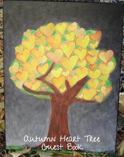 Autumn Heart Tree