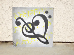 For Good (Treble and Bass Clef Heart