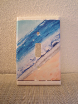 Beach Switchplate Cover