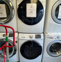 Samsung GAS Laundry Set - Used/Refurbished  - $900 - (#44D2D)