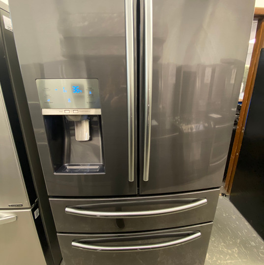 Samsung Black Stainless French Door - $1600