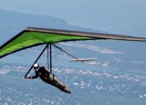 Melhor piloto de asa delta no Rio de Janeiro