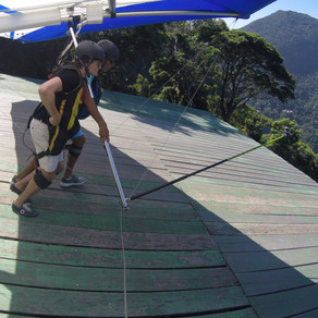 Where to do a tandem flight of hang gliding in Brazil