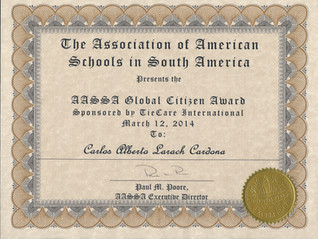AASSA Global Citizen Award