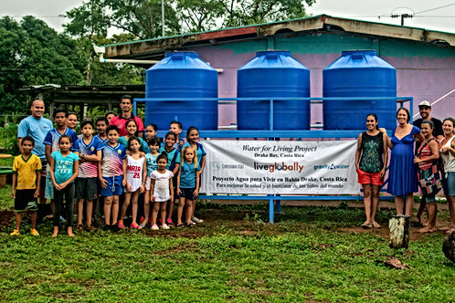 First clean water project