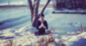 Snow Meditation, Kelsey Emily Yoga