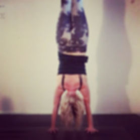 Handstand, Kelsey Emily Yoga