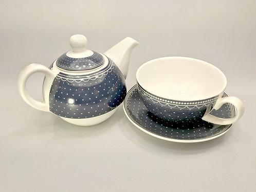 Tējas komplekts kanniņa un tasīte