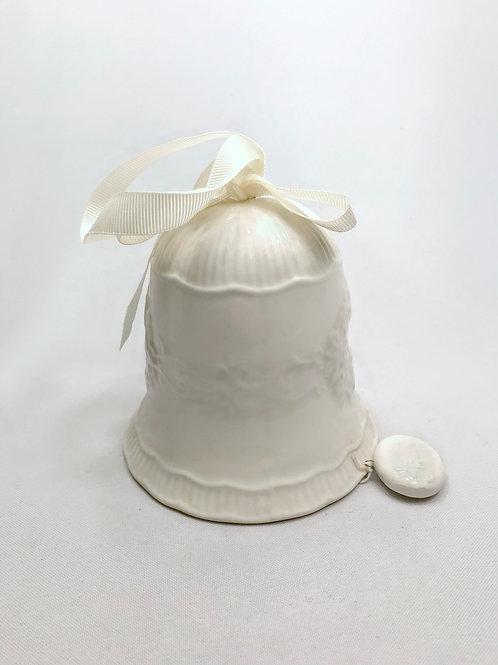 Keramikas zvans balts