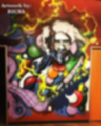 Charlie RICKS art graffiti