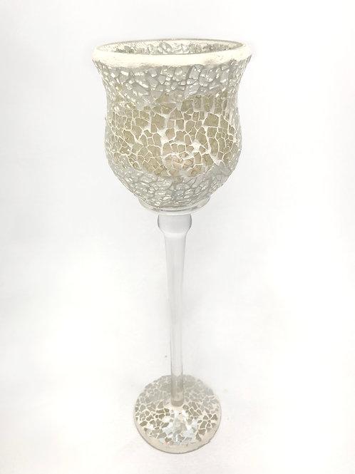 Stikla mozaīkas svečturis