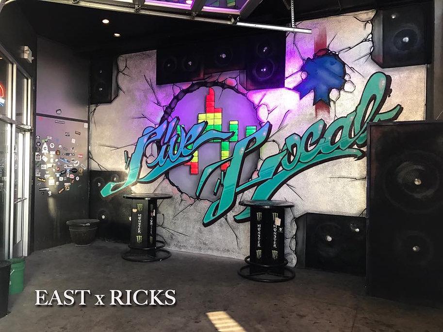 RICKS Graffiti Graffiti EAST