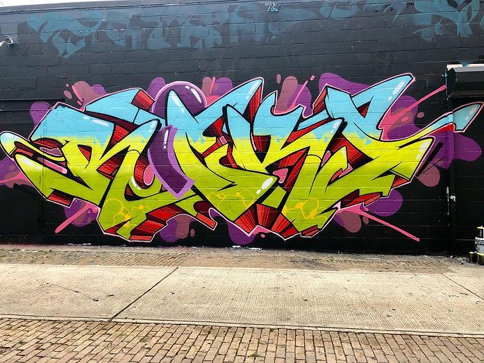 ricks , graffiti, ricks 73