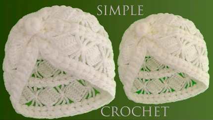Como tejer a crochet gorro fácil en pun