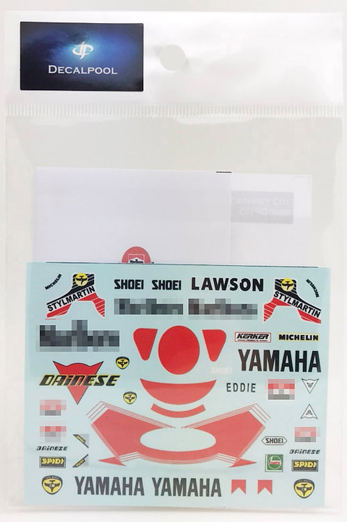 1/12 Yamaha YZR500 Marlboro WGP '1988 E. Lawson Rider