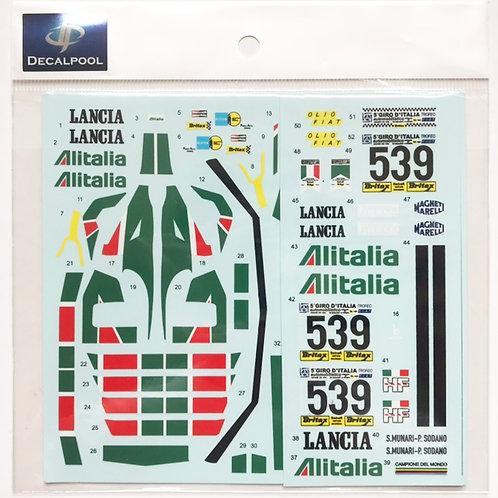 1/24 Lancia Stratos Turbo Alitalia '77 Giro D' Italia Gr.5
