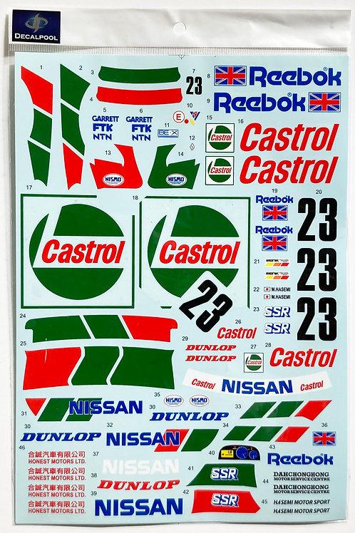 1/12 Nissan Skyline R32 GT-R Castrol #23 Macau Guia '90 Winner