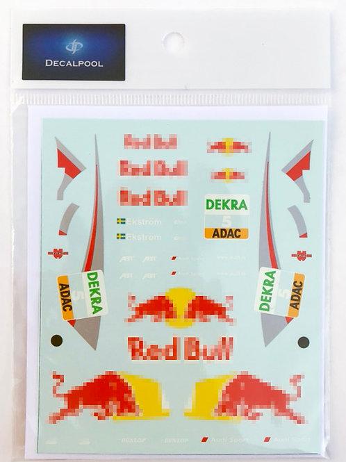 1/24 Audi A4 Redbull #5 Mattias Ekström DTM '09