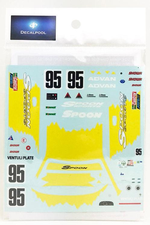 1/24 Honda CIVIC EG6 SPOON SPORTS N1 Endurance '92