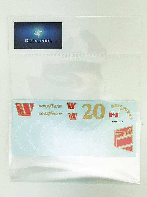 1/20 Walter Wolf WR1 '77 Goodyear Option