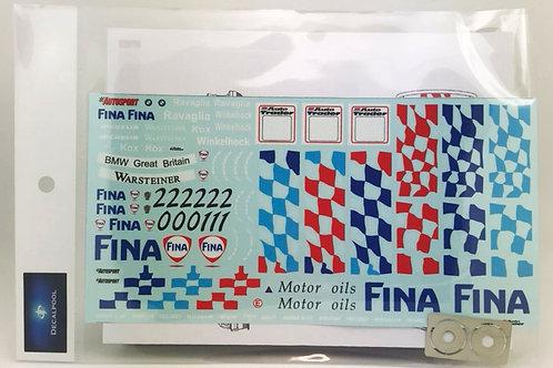 1/24 BMW 320i FINA #20/21/22 J. Winkelhock BTCC '96