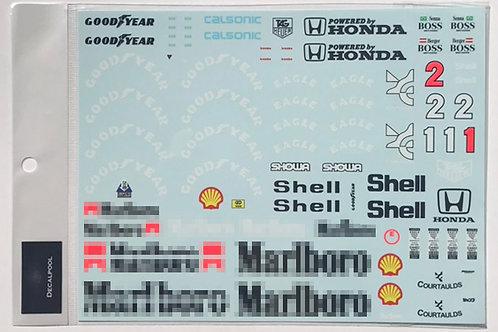 1/12 McLaren MP4/6 Marlboro Ayrton Senna '89 GP
