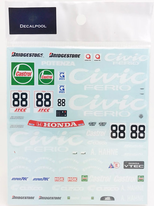 1/24 Honda Civic EG9 Ferio #88 JTCC '94